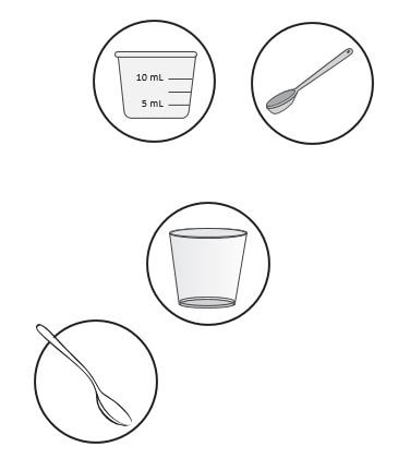 Supplies needed for preparing Zokinvy.