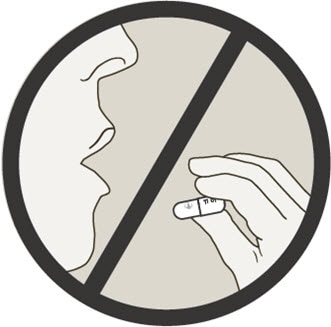 Do not swallow Spiriva capsules. Spiriva capsules should only be used with the HandiHaler device and inhaled through the mouth.