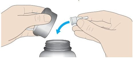 Throw away the used needle in a puncture-resistant container.