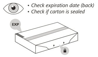 Look at your Enspryng to make sure it has not expired and the seal is not broken. Do not use if either has ocurred.