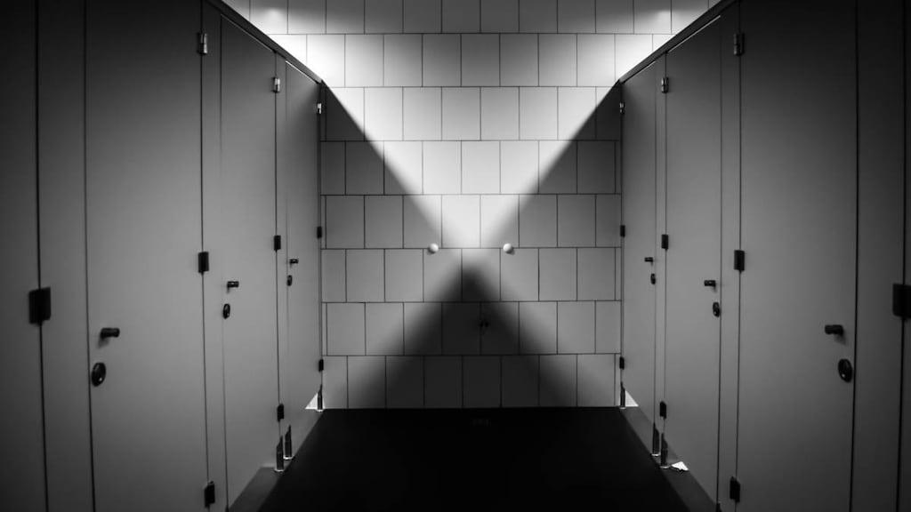 Bleak looking toilets