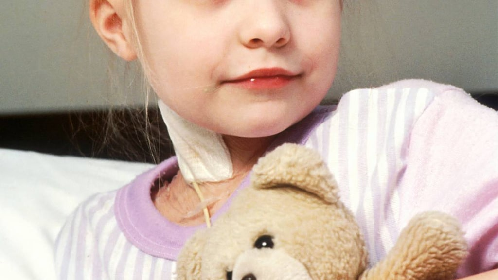 Girl with cancer
