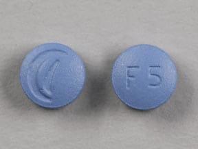 Imprint Logo F5 - finasteride 5 mg