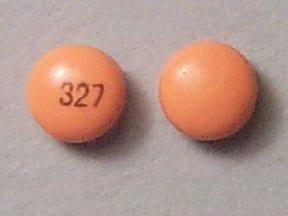 Imprint 327 - bisacodyl 5 mg