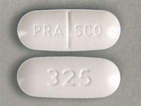 Imprint PRASCO 325 - guaifenesin/phenylephrine 25 mg / 1200 mg