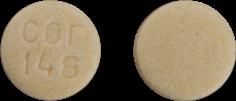 Imprint cor 148 - potassium citrate 5 mEq (540 mg)