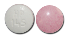 Imprint HP 145 - aspirin/carisoprodol 325 mg / 200 mg
