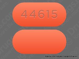 Imprint 44615 - acetaminophen/guaifenesin/phenylephrine acetaminophen 325 mg / guaifenesin 200 mg / phenylephrine HCl 5 mg