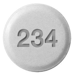 Imprint 234 - ethinyl estradiol/norgestimate ethinyl estradiol 0.025 mg / norgestimate 0.18 mg