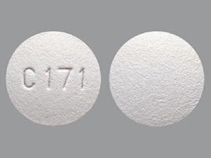Imprint C171 - darifenacin 15 mg