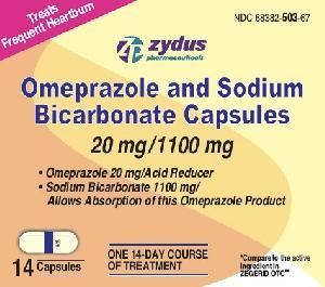 503 - Omeprazole and Sodium Bicarbonate