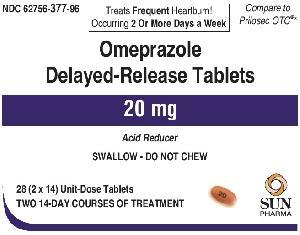 20 - Omeprazole Delayed Release