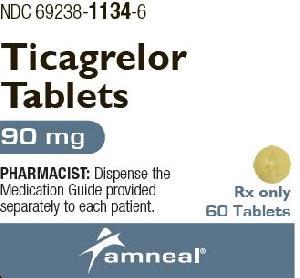 Imprint A 11 - ticagrelor 90 mg