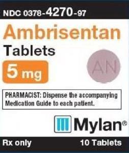 Imprint M AN - ambrisentan 5 mg
