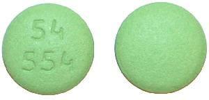 Imprint 54 554 - febuxostat 40 mg