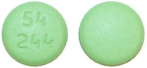 Imprint 54 244 - febuxostat 80 mg