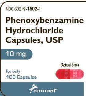 Imprint Amneal 1502 - phenoxybenzamine 10 mg