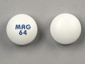 Imprint MAG 64 - magnesium chloride 64 mg