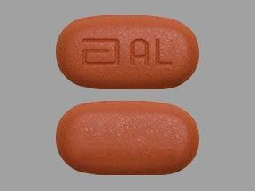 Imprint a AL - Kaletra lopinavir 200 mg / ritonavir  50 mg