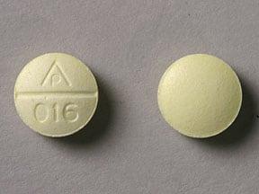 Imprint AP 016 - chlorpheniramine 4 mg