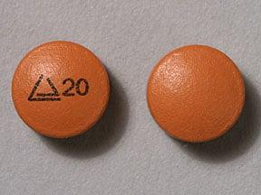 Imprint Logo 20 - Altoprev 20 mg