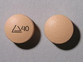 Imprint Logo 40 - Altoprev 40 mg