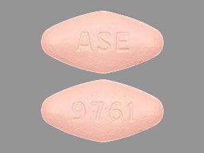Imprint ASE 9761 - sofosbuvir/velpatasvir 400 mg / 100 mg