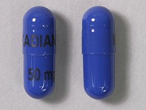 Imprint KADIAN 50 mg - Kadian 50 mg
