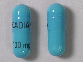 Imprint KADIAN 100 mg - Kadian 100 mg