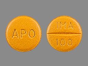 Imprint APO IMA 100 - imatinib 100 mg