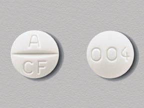 Imprint A CF 004 - Atacand 4 mg