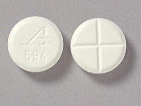 Imprint A 594 - Zanaflex 4 mg