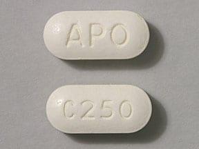 Imprint C 250 APO - cefuroxime 250 mg
