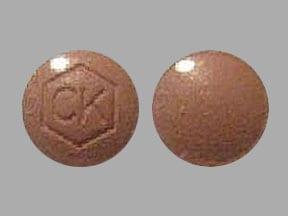Imprint CK - Angeliq drospirenone 0.5 mg / estradiol 1 mg