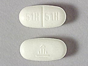 Imprint 51H 51H Logo - Micardis 40 mg