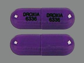 Imprint DROXIA 6336 DROXIA 6336 - Droxia 300 mg