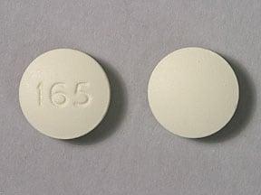 Imprint 165 - flurbiprofen 100 mg