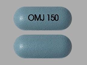 Imprint OMJ 150 - Nucynta ER 150 mg