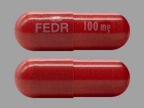 Imprint FEDR 100 mg - Inrebic 100 mg
