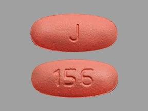 Imprint J 156 - valganciclovir 450 mg