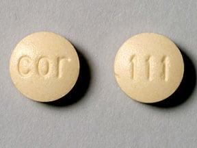 Imprint 111 COR - rimantadine 100 mg