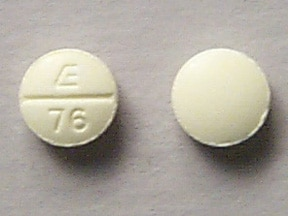 Imprint E 76 - phendimetrazine 35 mg