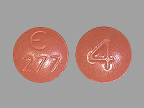 Imprint E 277 4 - Fycompa 4 mg