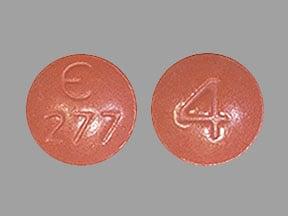 Imprint E 277 4 - Fycompa 4 mg