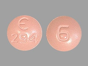 Imprint E 294 6 - Fycompa 6 mg