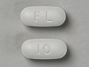Imprint FL 10 - memantine 10 mg