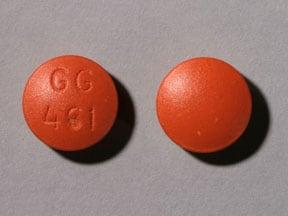 Image 1 - Imprint GG 461 - amitriptyline 100 mg