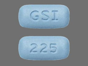 Imprint GSI 225 - Descovy 200 mg / 25 mg