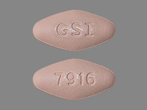 Imprint GSI 7916 - Epclusa sofosbuvir 400 mg / velpatasvir 100 mg