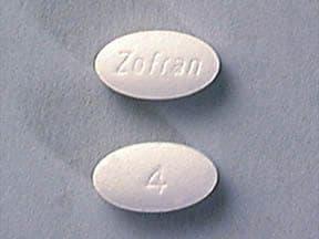Image 1 - Imprint Zofran 4 - Zofran 4 mg
